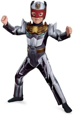 The Powerful Robo Knight Power Ranger Mega-force Muscle Costume..