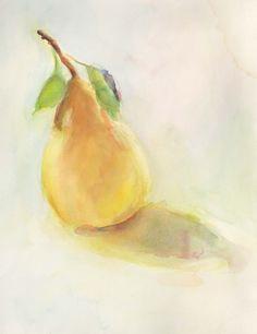 Pear Study By Beth Spiegel