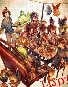 Zerochan has 0 Sakura Ruu anime images, and many more in its gallery. Pokemon Mew, Pokemon Manga, Black Pokemon, Pokemon Comics, Pokemon Fan Art, Cute Pokemon, Pikachu, Pokemon Images, Pokemon Pictures