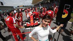 Malaysian GP 2015 - Grid Girl