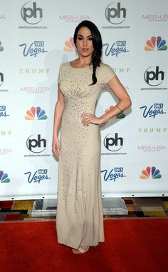 Brie Bella at the Miss USA Pageant