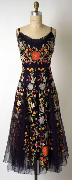 The Met- 1940s Cocktail dress Hattie Carnegie, Inc.  (American)