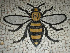 Manchester bee represents Manchester being the rebirth of the industrial revolution, it is also a known logo for Manchester's longest running Skate shop, Note.