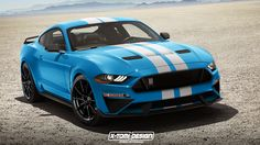 X-Tomi Design: Shelby GT350 Mustang