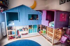 | La cama Kura en la decoración de habitaciones infantiles
