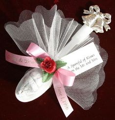 """24 Personalized Favors """"Spoonful of Kisses"""" for Wedding, Rehearsal Dinner, Anniversary or Bridal Shower"""