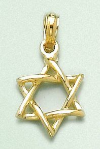 Amazoncom 14k Gold Religious Necklace Charm Pendant Jewish Tora