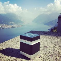 Speaker bluetooth portatile Soundwaver+ #uniqual #lifestyle #cool #lake #speaker #music #sound