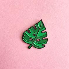 Caitlin Stout — Monstera Leaf Enamel Pin