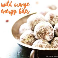 Life is always SO busy! Sometimes we just need an energy boost! When we are dragging booty it can be easy to snag a candy bar or  vending machine.  I highly recommend keeping these delicious and so easy to make Wild Orange Energy Bites on hand when you just need a little extra boost!  I always make them for my essential oil classes and they are a BIG hit!  . INGREDIENTS .  1 cup finely shredded coconut divided 1 cup almond butter 1 cup dried cranberries 1/2 cup raw honey 1/2 teaspoon salt 2…