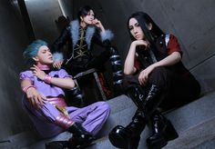 YURIKAWA Chrollo Lucilfer, Ellijyo(襟条小夜子) Illumi Zoldyck Cosplay Photo - Cure WorldCosplay
