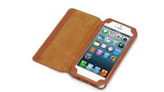 Stylish leather holder for iPhone ... purpleclover.com