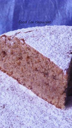 Νηστίσιμο Κέικ με Καρύδια και Ελαιόλαδο