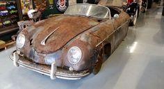 Porsche 356 A del 1955 ritrovata dopo 41 anni