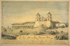 SantaBarbara Mission 1885 - Google Search