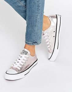 finest selection 58a3c d6cb9 Discover Fashion Online Converse Rose Gold, Rose Gold Metallic Shoes, Gold  Sneakers, Shoes