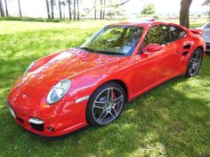At a Porsche Club run in the Scottish borders May 2013