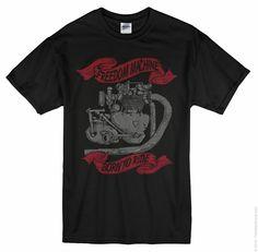 T shirt design triumph machine vector photoshop