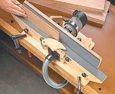 shop-built router jointer woodworking plan