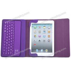 Wireless Ball Texture Bluetooth Keyboard with Foldable Stand PU Leather Case Cover for iPad Mini