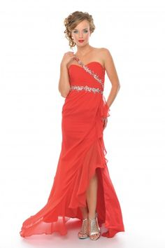 This was my prom dress