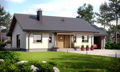 Jednopodlažný dom s veľmi vhodným riešením je určený pre 4 člennú rodinu. Dispozičné riešenie rozdeľuje doma na dennú a nočnú časť so samostatnou hosťovskou izbou alebo pracovňou. Dom má množstvo odkladacích priestorov ako aj vlastnú technickú miestn ...