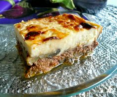 the perfection of Greek mousaka!