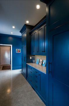 Benjamin Moore Blue Paint Color: Benjamin Moore Dark Royal Blue 2065-20 #DarkRoyalBlue