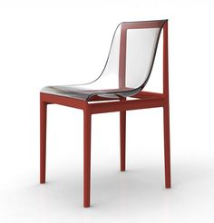 #chair #lucite #acrylic | Dream Air designer Eugeni Quitllet for Kartell.