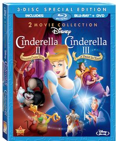 New on Blu-ray: Disney's Cinderella II and III 2-Movie Collection