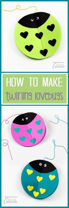 Twirling Lovebug Craft