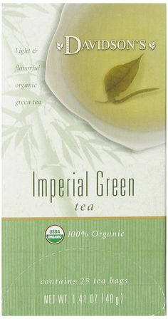 Davidson's Tea Imperial Green Tea, 25-Count Tea Bags (Pack of 6) ** Read more  at the image link. (This is an affiliate link and I receive a commission for the sales)