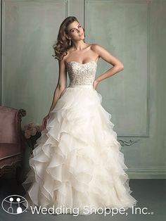 Allure 9110 A stunning gown for a stunning bride!