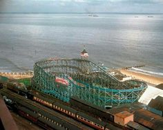 Wonderland Big Dipper in Cleethorpes North East Lincolnshire England Shed Images, Lincolnshire England, Planet Coaster, Big Dipper, Holiday Park, Old Street, History Photos, Local History, Historia