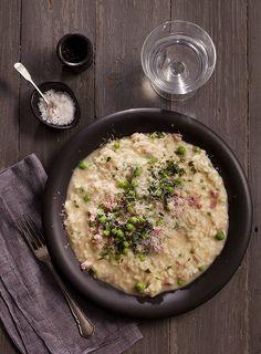 Risotto (recipe here).