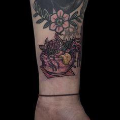 #tattoo #japanese #tattoo #soup #souptattoo #youkaitattoo #youkai #youkaiwatch #irezumi #irezumicollective