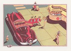 """Ever Meulen (Automotiv - uitgave De Bezige Bij)  ... Het oeuvre kan worden getypeerd als """"de droom van een toekomst die er nooit is geweest."""" (Volkskrant, 16feb13)"""