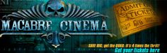The Macabre Cinema! Haunted Attractions, Real Movies, Movie Theater, Macabre, Real Life, Beast, Horror, Cinema, Neon Signs