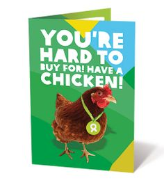 Chicken Charity Gift - Buy for Xmas! | Oxfam Unwrapped