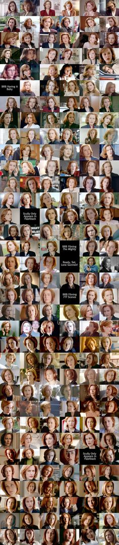 Every episode of Scully. The X-Files. I'm repinning because I love this so much.