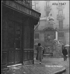 Calle de Toledo y La Fuentecilla en 1947