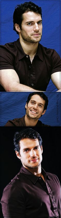 Henry Cavill. It cannot be legal for one man to be this insanely attractive.