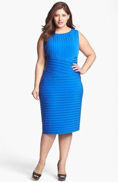 Calvin Klein Bandage Dress (Plus Size) available at #Nordstrom