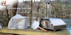 The Fiesta portable pizza oven is the easiest in the market. It's a wood-burning pizza oven. You only need to plug the chimney into place, fit the refractory fire brick inside the oven and it's ready to be fired up. Portable Pizza Oven, Pizza Oven Outdoor, Outside House Decor, Perfect Pizza, Wood Fired Oven, Firewood, Pizza Ovens, Kiosk, Outdoor Decor