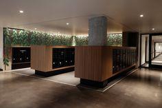 Cypress — Vida Design Mail Room, Vida Design, Construction Drawings, Room Interior Design, Design Interiors, Lobby Design, Lounge Design, Commercial Interiors, Apartment Design