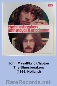 John Mayall's Bluesbreakers Featuring Eric Clapton (1966)  Pressing from the Netherlands with an alternate cover.  #albums #vinyl #records  Click here to learn more about this album: http://www.rarerecords.net/store/john-mayall-eric-clapton-the-bluesbreakers-dutch-lp/