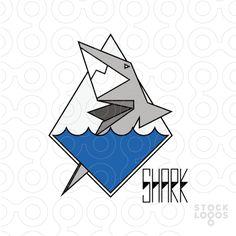 Shark vector logo for sale.