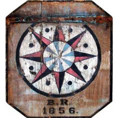 I pinned this Barn 1856 Wall Art from the Red Horse Signs event at Joss and Main! Vintage Wood Signs, Antique Signs, Wooden Signs, Barn Quilts, Sign Printing, New Wall, How To Distress Wood, Wood Paneling, Metal Signs