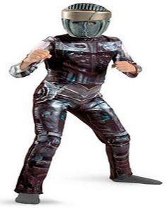 Real Steel Movie Atom Deluxe Costume  sc 1 st  Pinterest & Cool Homemade Boyu0027s Costume: Atom from Real Steel | Pinterest | Real ...