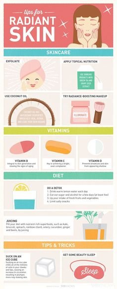 Tips for radiant skin